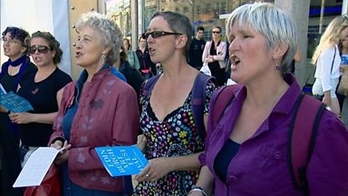 Image for 'Complaints Choir' sing listeners' gripes