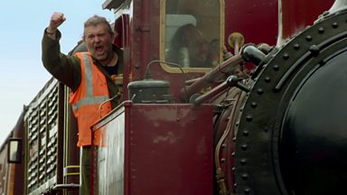 Image for A hairy train driver
