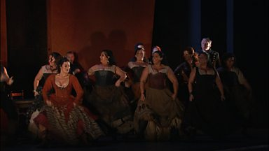 Image for Adapting Carmen (pt 3/3) - How to choreograph a Bollywood inspired opera