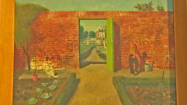 Image for Walled garden painting