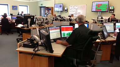 Image for Tour of Norwich's 999 ambulance call centre