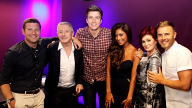 Image for Greg James gets an X Factor EXCLUSIVE!
