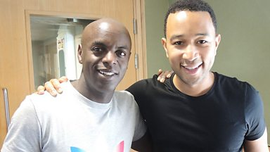 Image for Interview: John Legend co-hosts with Trevor Nelson