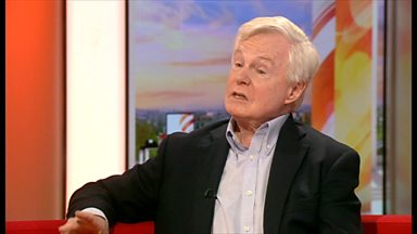 "Image for ""It's Del Boy really"" Sir Derek Jacobi, the master of stage and screen talks about his career"