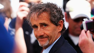 Image for Alain Prost: Sebastian Vettel is