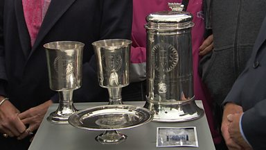 Image for Set of church silver