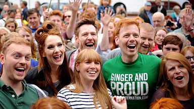 Image for Is Scotland really home to a fifth of the world's redheads?