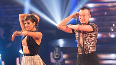 Image for Julien Macdonald and Janette Manrara Cha Cha to 'Vogue'