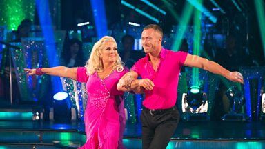 Image for Vanessa Feltz and James Jordan Cha Cha to 'That Don't Impress Me Much'
