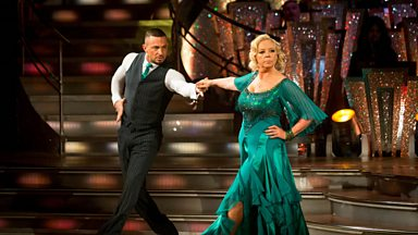 Image for Deborah Meaden and Robin Windsor Tango to 'Money Money Money'