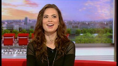 Image for Actress Hayley Atwell tells about her new play, The Pride