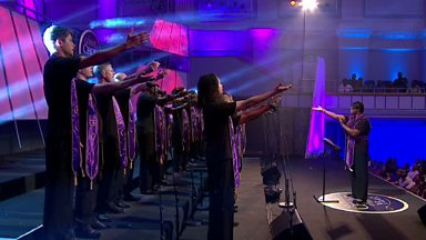 Image for Guide Me, O Thou Great Jehovah performed by Birmingham Community Gospel Choir