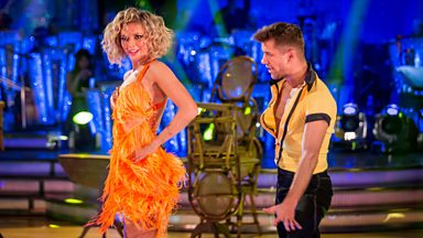 Image for Rachel Riley & Pasha Salsa to 'Get Lucky'