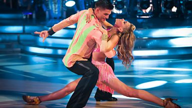 Image for Abbey Clancy & Aljaz Cha Cha to 'Let's Get Loud'