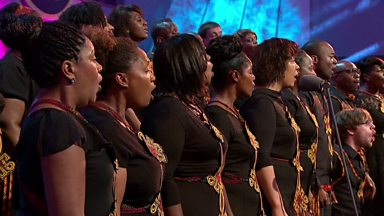 Image for Blessed Assurance performed by Town Hall Gospel Choir