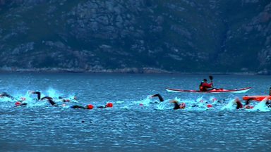 Image for Celtman: A Scottish extreme iron-distance triathlon.