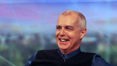 Image for Neil Tennant chats with Janice Long