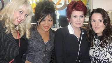 Image for Sharon Osbourne chats to Steve Wright