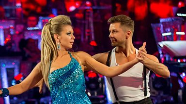 Image for Rachel and Pasha dance the Cha Cha to When Love Takes Over
