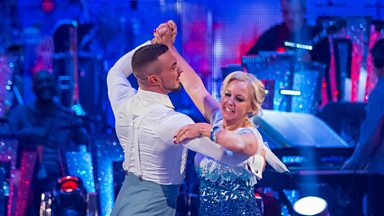 Image for Deborah and Robin dance the Quickstep to Higher and Higher