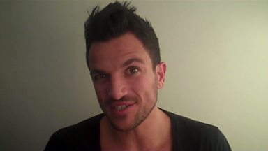 Image for Backstage Buzzcocks: Peter Andre on presenting Buzzcocks