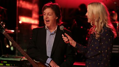 Image for Paul McCartney chats with Lauren Laverne