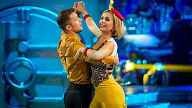 Image for Rachel Riley & Pasha Quickstep to 'Johnny Got A Boom Boom'