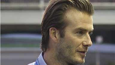 Image for 'If Beckham's hair could speak, what would it say?'