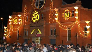 Image for Leicester lights up for Diwali