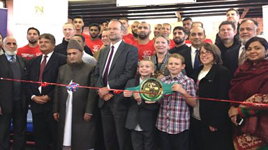 Image for Boxing club tackles anti-social behaviour