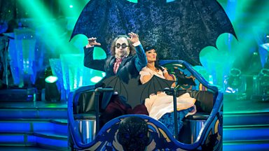 Image for Dave Myers and Karen Hauer Jive to 'Monster Mash'