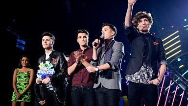 Image for Union J, Best British Breakthrough Award winner