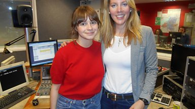 Image for Gabrielle Aplin singing live on the Laura Rawlings show