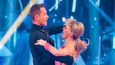 Image for Ashley Taylor Dawson & Ola dance the Quickstep to 'Are You Gonna Be My Girl'