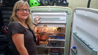 Image for Old gadgets: Lisa Jay's 1954 fridge