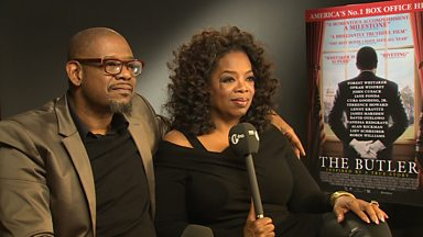 Image for Oprah Winfrey & Forest Whitaker Chat With Twin B & Yasmin Evans