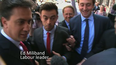 Image for Ewan Jeffries meets Ed Miliband