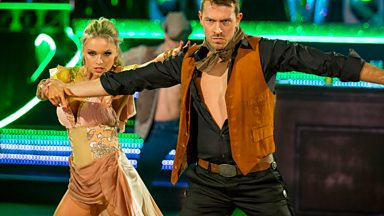 Image for Ashley Taylor Dawson & Ola dance to 'You Give Love A Bad Name'