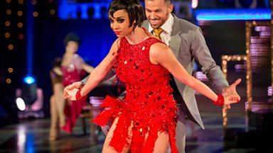 Image for Natalie Gumede & Artem dance the Charleston to 'Bang Bang'