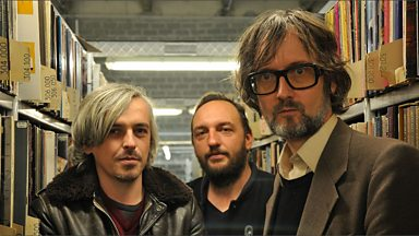 Image for Jarvis visits the Radio France vinyl archives in Paris with a little help from Clovis and Guillaume of Dirty Sound System.