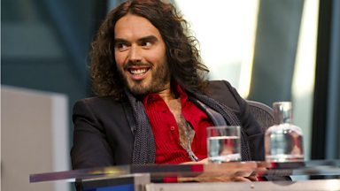 "Image for David Dimbleby: Russell Brand's anti-voting stance ""absurd position"""