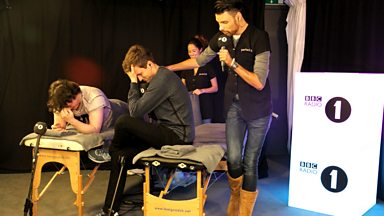 Image for Greg James Gets His Bum Waxed!