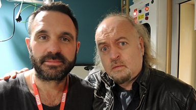 Image for Bill Bailey catches up with Shaun Keaveny