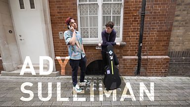Image for Rob da Bank Presents Busking At The BBC: Ady Suleiman