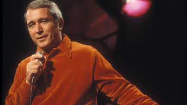 Image for Perry Como is inducted into Michael Ball's Singers Hall of Fame