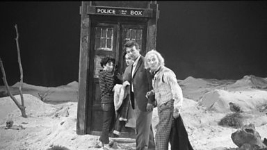Image for Doctor Who at 50 - painting the TARDIS