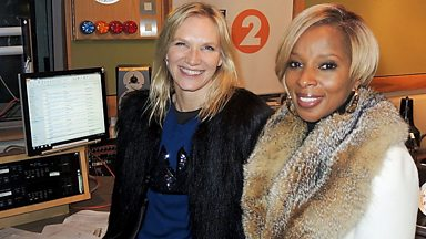 Image for Mary J Blige joins Jo Whiley in the studio