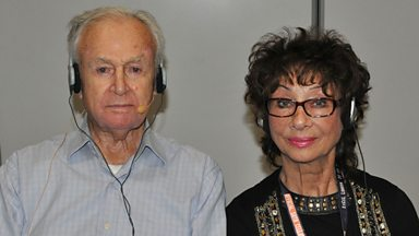 Image for Graham Norton talks to William Russell & Carole Ann Ford at the Doctor Who Celebration in London