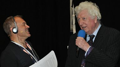 Image for Graham Norton talks to Tom Baker at the Doctor Who Celebration in London