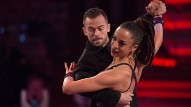 Image for Natalie Gumede & Artem dance the Tango to 'Where Have You Been'